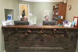 Haywards Heath Practice Reception area
